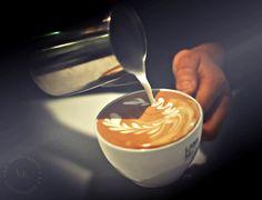 Latte Art @ Café Dulcé, Little Tokyo, Los Angeles | Flickr - Photo Sharing!