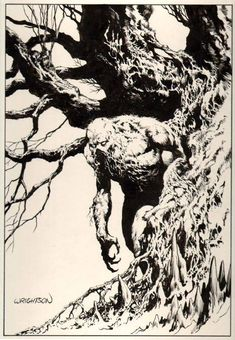 by Armand Cabrera Comics legend Bernie Wrightson passed away this weekend. His impact on the comic book world and horror comics canno. Horror Comics, Dc Comics Art, Marvel Comics, Comic Superheroes, Comic Book Artists, Comic Artist, Comic Books Art, Frank Frazetta, Gravure Illustration