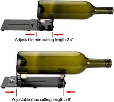 Glass Bottle Cutter, Square Round Bottle Cutting Machine, Wine Bottles and Beer Bottles Cutter Tool with Accessories Tool Kit, Upgrade Version Bottle Cutter, Glass Cutter, Japan Woodworker, Wood Repair, Glass Bottles, Beer Bottles, Tool Kit, Wine Rack, Free Delivery
