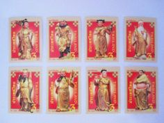 """Beautiful Thai Stamps Collecting Eight Immortals in 2011 Unused Thailand by SUWANNABHUMI. $37.17. In 2011. 3 Baht. 8 Pieces/set. Thai Stamps Eight Immortals. Unused. The Eight Immortals are a group of legendary saints in Chinese mythology. Each Immortal's power can be transferred to a power tool that can bestow life or destroy evil. Together, these eight tools are called the """"Covert Eight Immortals"""" Most of them are said to have been born in the Tang or Song Dyna..."""