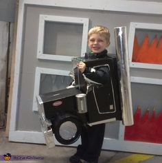 Amy: My son Austin loves trucks, especially Peterbilts! When he asked to be one for Halloween I couldn't say no so I started building one. Everyone loved his costume, and it...