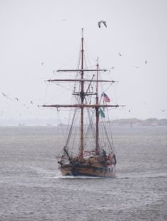 Hawaiian Chieftain in Grays Harbor, Washington. #ships #sailing #seattle http://historicalseaport.org/