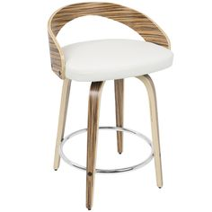 "Victoria 24.25"" Swivel Bar Stool & Reviews 