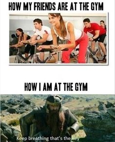 hahah @Jenna Nelson Nelson Bednar all the girls at the gym who race to the cardio machines