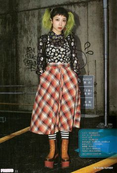 FRUiTS magazine: Coi, 22 yrold, works at Bubbles Asian Street Style, Tokyo Street Style, Japanese Street Fashion, Tokyo Fashion, Harajuku Fashion, Fashion 2020, Harajuku Girls, Alternative Outfits, Alternative Fashion