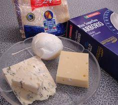 Risotto ai quattro formaggi