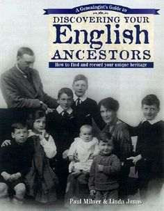 A Genealogist's Guide to Discovering Your English Ancestors: Part of the Discovering Your Ancestors Series, this book starts by teaching the basics of sound genealogical research, then provides time-saving strategies for researching a particular ethnic group. There are tips on locating records both here and abroad, deciphering original documents, planning a research trip and putting an ancestor's records in historical context. #familyhistory #British #Britain #England