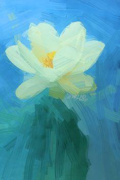 Lotus Flower Paintings - Image Based - Akvis Oil Paint Fil… | Flickr Flower Painting Images, Lotus Flower Images, Oil Painting Flowers, Painting & Drawing, Flower Paintings, Lotus Flowers, Paint Filter, Photo Editing, Design Inspiration