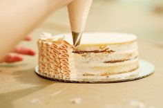 Cake decorating idea; will have to try these!