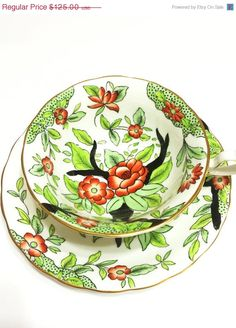 Vintage Bone China Tea Cup & Saucer ~ Royal