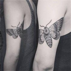 moth tattoo32