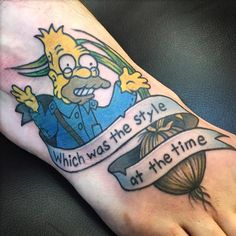 ➡️Worlds best Simpsons tattoos ➡️Credit all artists if sharing ➡️Submit your photos to thesimpsonstattoo@outlook.com ⬇️Heartbreak Ralph Pins⬇️