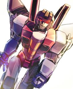 Starscream<<that conniving grin is something I learned to master from him.