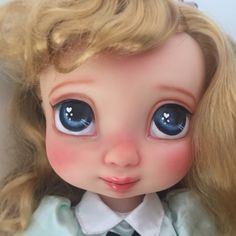 Sleeping Beauty Aurora Disney animator doll customised by Dolls du Jardin