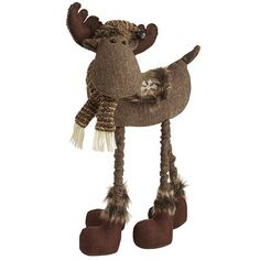 standing fabric moose got as christmas gift 2014 christmas shopping christmas 2014 christmas