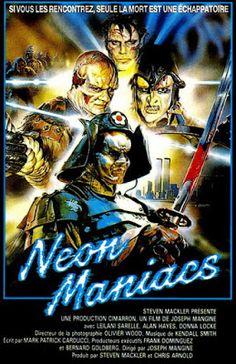 El señor de los bloguiños: Neon maniacs (1986) de Joseph Mangine