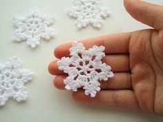 Crochet Snowflakes Crochet Christmas Ornaments Crochet