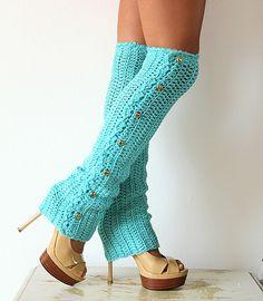 Dance Till Dawn 80's Party Leg Warmers