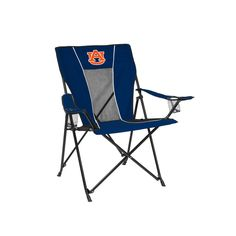 Outdoor Adult Logo Brand Auburn Tigers Game Time Portable Folding Chair, Multicolor