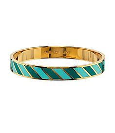 """UHM GUYS this Kate Spade """"Toe the Line"""" Idiom Bangle is ON SALE for $29... IS ANYONE ELSE FREAKING OUT OR IS IT JUST ME?? Simply click to purchase!!"""