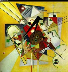 Wassily Kandinsky gult ackompanjemang