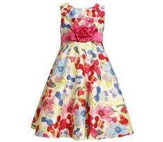 www.mylittlematilda.com.do Ref. 9383 Vestido Floreado Multicolor, Tamaños 4, 5, 6, 6x, Precio RD$1,995