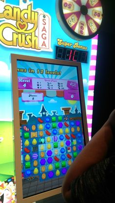 Giant Candy Crush!!!