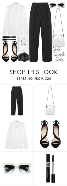 """Untitled #305 (Top Set #29)"" by poppynight ❤ liked on Polyvore featuring Joseph, Jil Sander, Gosh, Prada, Christian Dior and Selfridges"