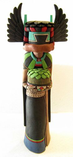 Hopi Kachina Doll Genuine Native American Crow Mother Beautiful Quality | eBay