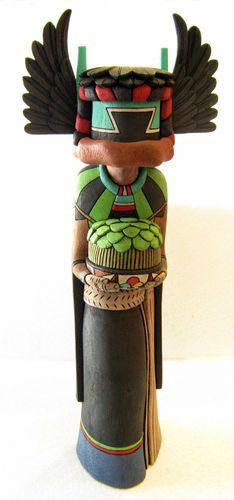 Hopi Kachina Doll Genuine Native American Crow Mother Beautiful Quality | eBay