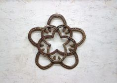 Hey, I found this really awesome Etsy listing at https://www.etsy.com/listing/172689290/rustic-horseshoe-star-wreath-christmas