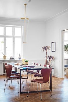 6 interior design shots of Pernille Teisback's new home: