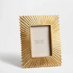 Raised striped frame - Frames - Decor and pillows   Zara Home United States