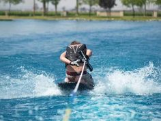 Summer!!!! Boating and Knee boarding :) 360s on the knee board I'm all about it!
