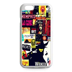 Broadway Musical Collage iPhone 6 Case