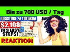 (97) 3 EINFACHE SCHRITTE Bis zu 700$ / Tag mit DIGISTORE24 als ANFÄNGER [Michael Reagiertauf] - YouTube
