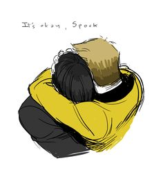 boldly going where some people have gone before | Spirk <3 soo cute