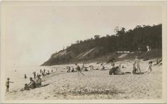 Frankfort Michigan, Lake Michigan, Old Photos, Bathing Suits, Gems, Explore, History, Beach, Water