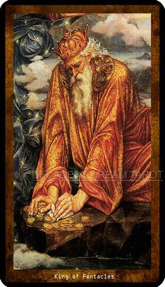 Decadent Dream Tarot - KING OF PENTACLES