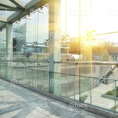 Modern glass building royalty-free stock photo
