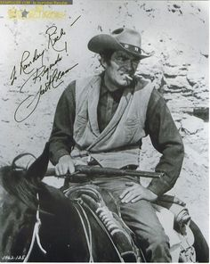 Jack Elam autograph collection entry at StarTiger Old Western Actors, Western Movies, Jack Elam, Western Photo, Cute Piglets, Cowboy Girl, Star Wars, Tv Westerns, Picture Movie