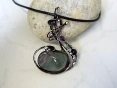 Simira - Králíček s achátem - kristalka Tiffany, Bracelets, Silver, Jewelry, Jewlery, Jewerly, Schmuck, Jewels, Jewelery