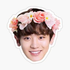 Exo Stickers, Face Stickers, Tumblr Stickers, Printable Stickers, Kpop Exo, Exo Chanyeol, Kpop Logos, Bts Face, Exo Lockscreen