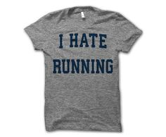 Thug Life Shirts has nailed it with these statement tees! Shop the quote that fits your dog loving personality best. Cool T Shirts, Tee Shirts, I Hate Running, Statement Tees, Running Shirts, I Work Out, Personalized T Shirts, T Shirts With Sayings, Funny Tees