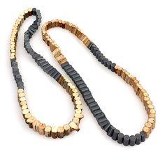 Silke Spitzer Necklace: Untitled, 2014 Twigs, plastic