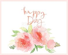 Watercolor greeting card flowers. Handmade. Congratulations.
