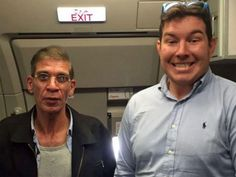"""A grinning British hostage who posed for a photograph with the EgyptAir hijacker has been described as the latest victim of """"narcissistic"""" social media culture. Ben Innes, 26, spoke on Tuesday night about his motives for walking up to the front of the hijacked plane after it landed in Cyprus and asking for a photo with the apparent suicide bomber, admitting he's """"not sure why I did it""""."""