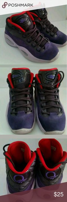 68c30acf9df5 Reebok Allen Iverson Questionables Iverson s are in really great condition.  I m selling because my son has outgrown all of his shoes. please check out  my ...