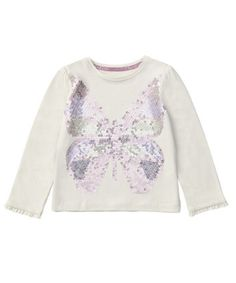 695438dec75 Mothercare Girls Sequin Butterfly T-shirt Nursery Furniture, Prams, Car  Seats, Berry