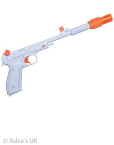 Add this officially licensed Princess Leia Blaster to your Leia costume for a complete look! Blaster is approximately 15 inches long with a 5 inch grip. Orange and white with a stationery trigger. Halloween Accessories, Costume Accessories, Star Wars Halloween Costumes, Adult Halloween, Larp Costumes, Trendy Halloween, Holiday Costumes, Halloween 2018, Halloween Party